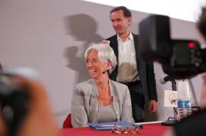 Christine Lagarde, Ministre de l'Économie, de l'Industrie et de l'Emploi
