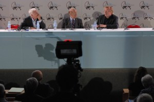 Peter Sloterdijk and Valery Giscard d'Estaing's debate about the future of Europe