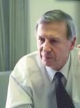 Professor Anthony Giddens a former director of the London School of Economics