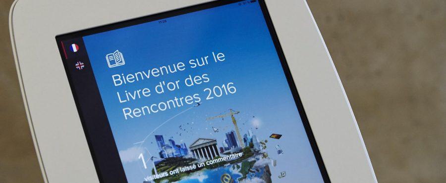 Rencontres economiques aix en provence 2016