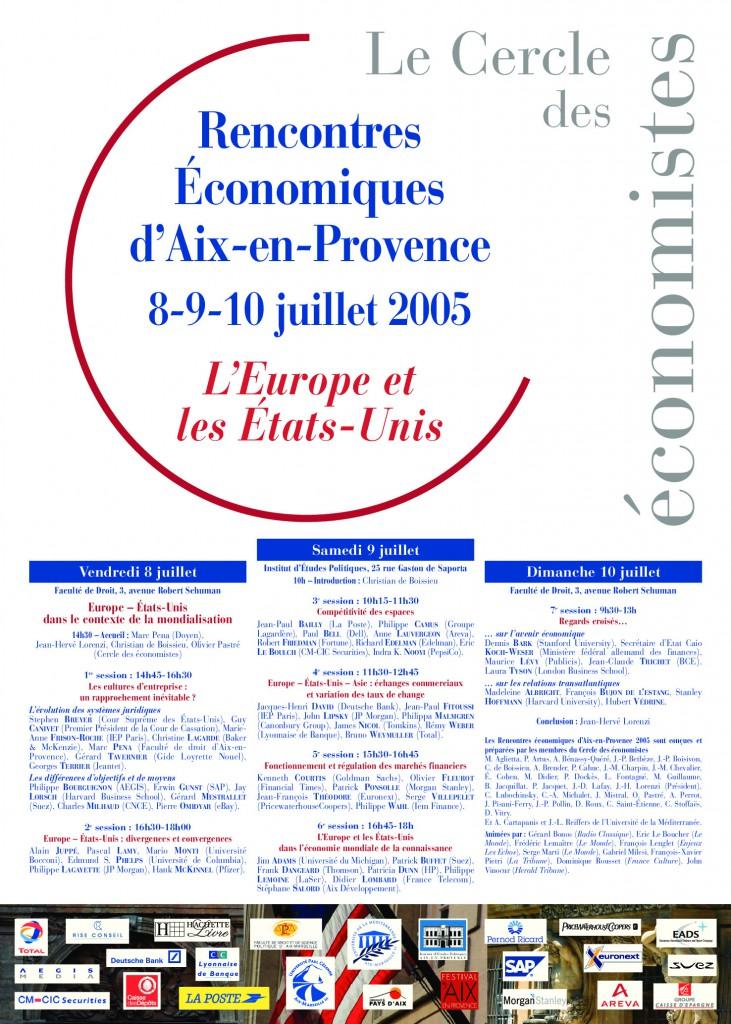 Rencontre aix cercle economistes